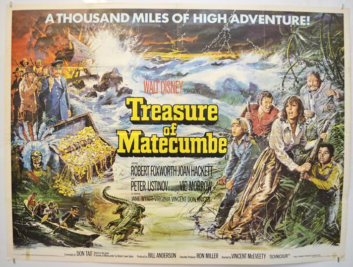 Treasure Of Matecumbe - Original Cinema Movie Poster From ...