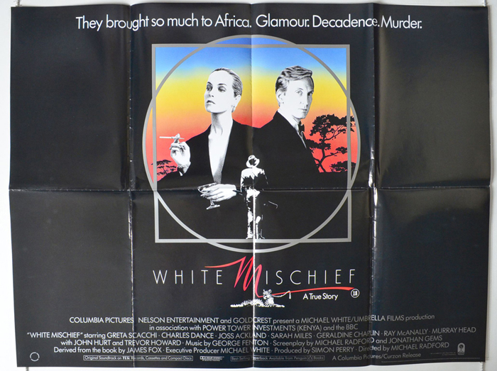 White Mischief by James Fox (1982 Hardcover) Signed 1st UK Edition