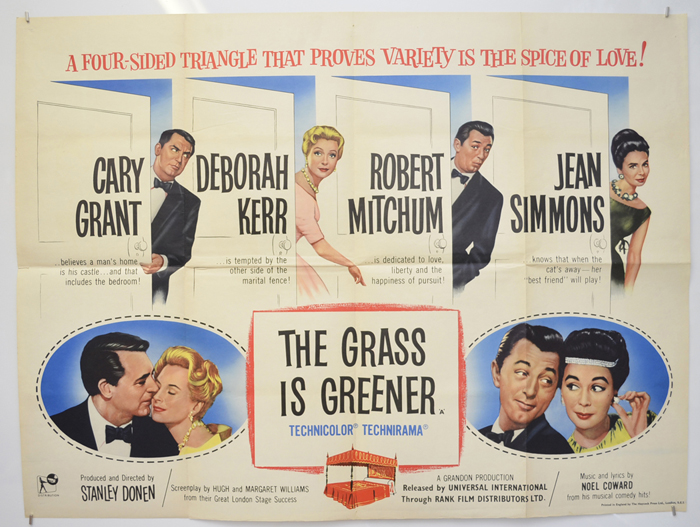 Grass Is Greener (The) - Original Cinema Movie Poster From ...