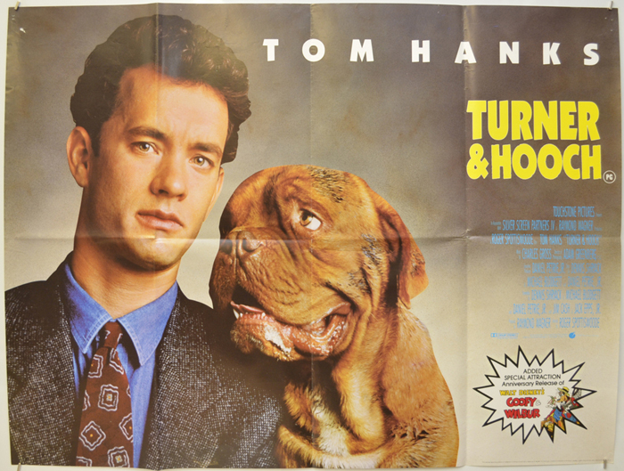Turner And Hooch - Original Cinema Movie Poster From pastposters ...