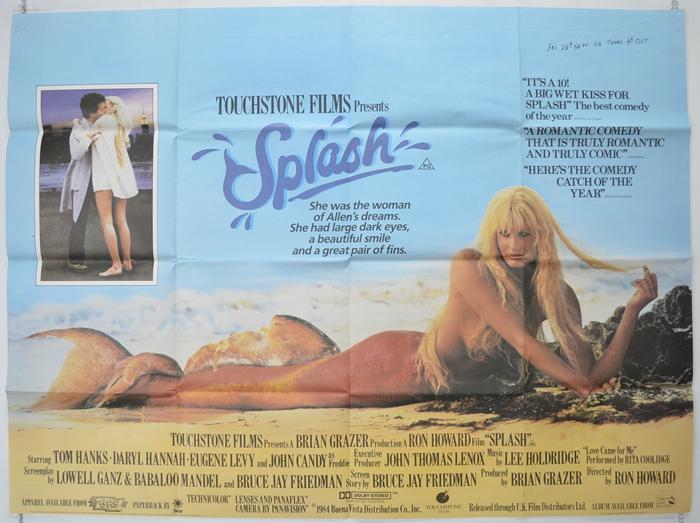 Splash - Original Cinema Movie Poster From pastposters.com British ...