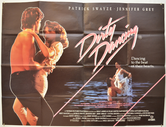 Dirty Dancing - Original Cinema Movie Poster From pastposters.com ...
