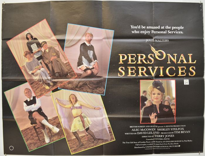 Personal Services - Original Cinema Movie Poster From pastposters ...