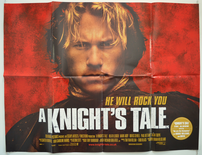 A Knight's Tale - Original Cinema Movie Poster From pastposters ...