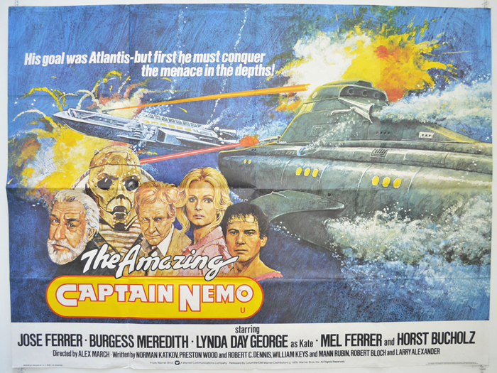 Amazing Captain Nemo (The)