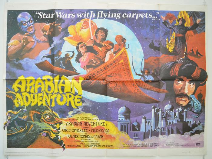 Arabian Adventure - Original Cinema Movie Poster From pastposters ...