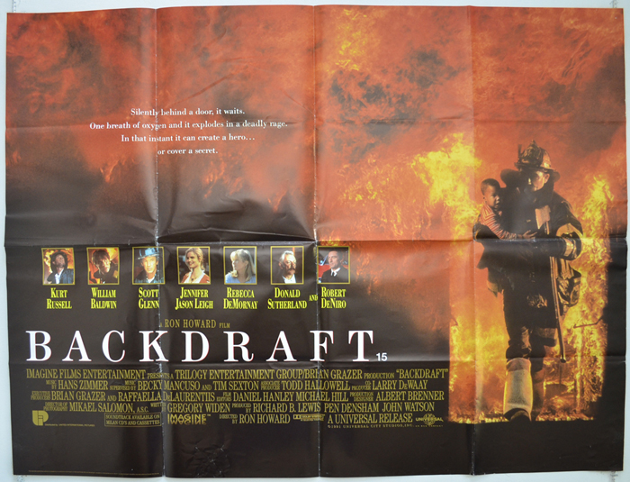 Backdraft - Original Cinema Movie Poster From pastposters.com ...