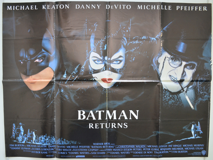 Batman Returns - Original Cinema Movie Poster From pastposters.com ...