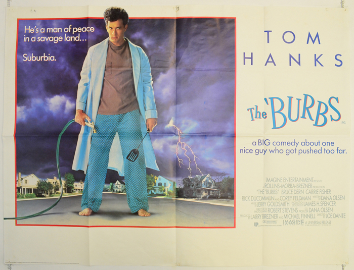 Burbs (The) - Original Cinema Movie Poster From pastposters.com ...