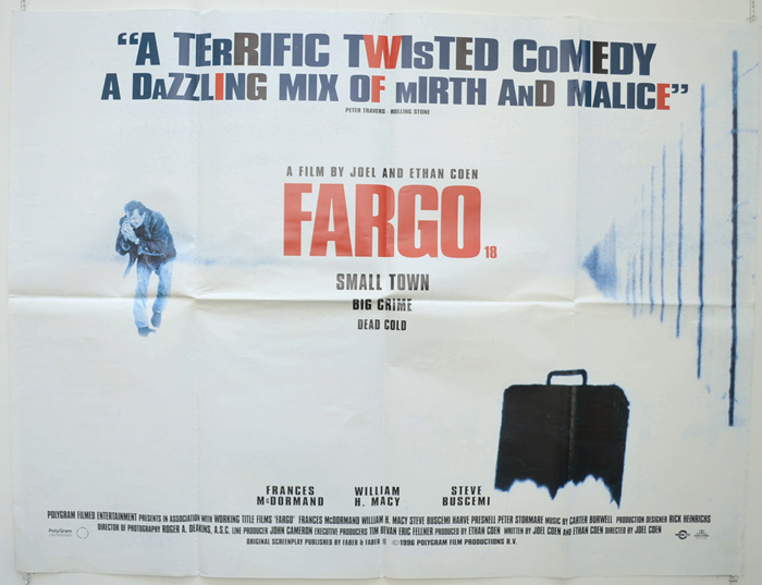 Fargo - Original Cinema Movie Poster From pastposters.com British ...