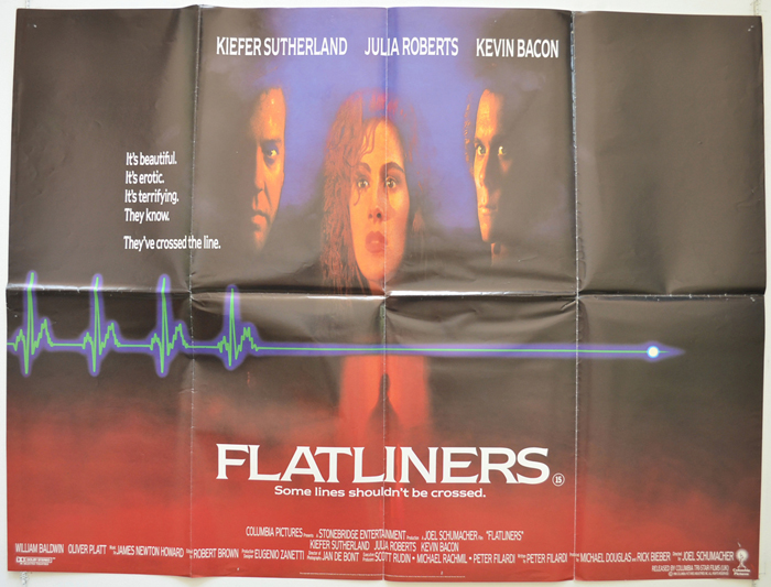Flatliners - Original Cinema Movie Poster From pastposters.com ...