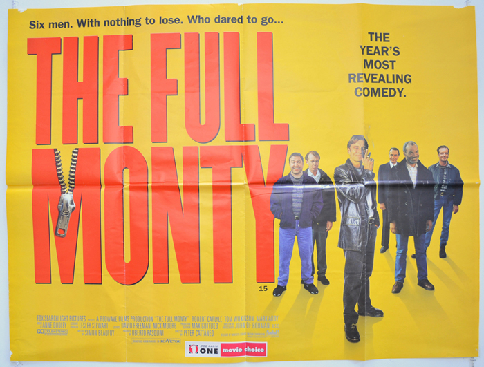 Full Monty (The) - Original Cinema Movie Poster From pastposters ...