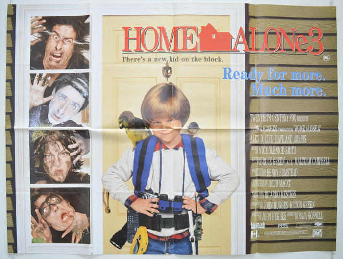 Home Alone 3 Original Cinema Movie Poster From Pastposters Com British Quad Posters And Us 1 Sheet Posters