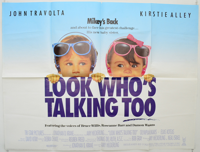Look Who's Talking Too <p><i> (Design 2) </i></p>