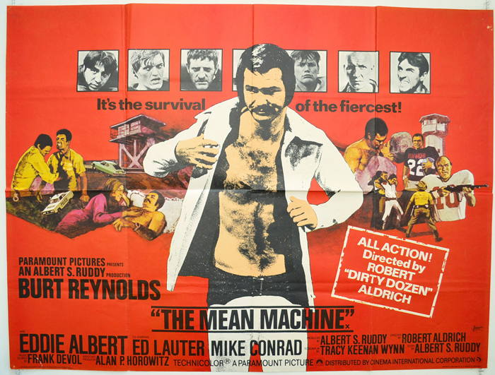 Image result for the longest yard 1974 poster