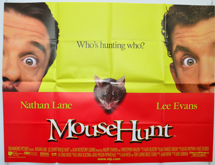 Mousehunt - Original Cinema Movie Poster From pastposters.com ...