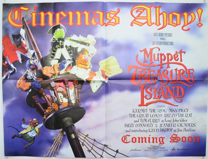 Muppet Treasure Island - Original Cinema Movie Poster From ...