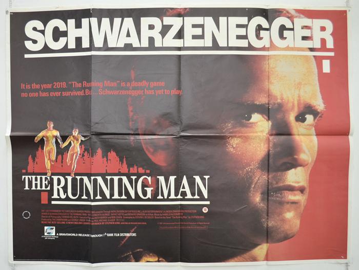 Running Man (The) - Original Cinema Movie Poster From pastposters ...