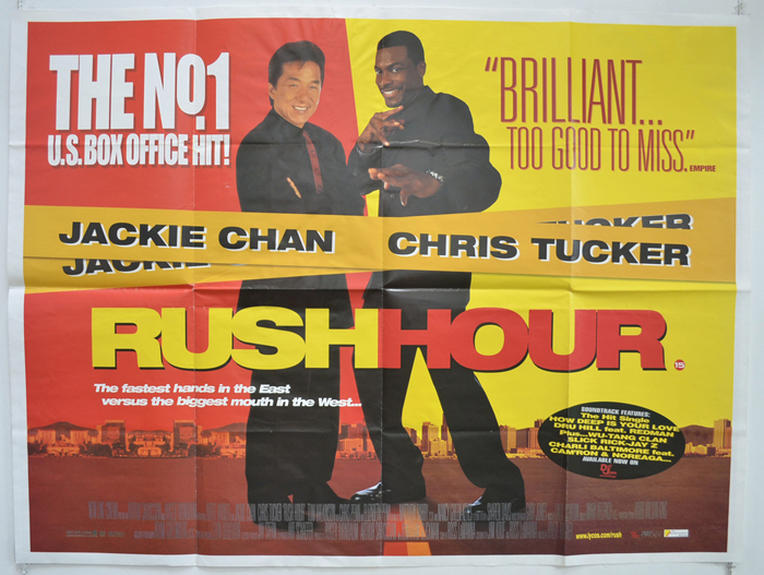 Rush Hour - Original Cinema Movie Poster From pastposters.com ...