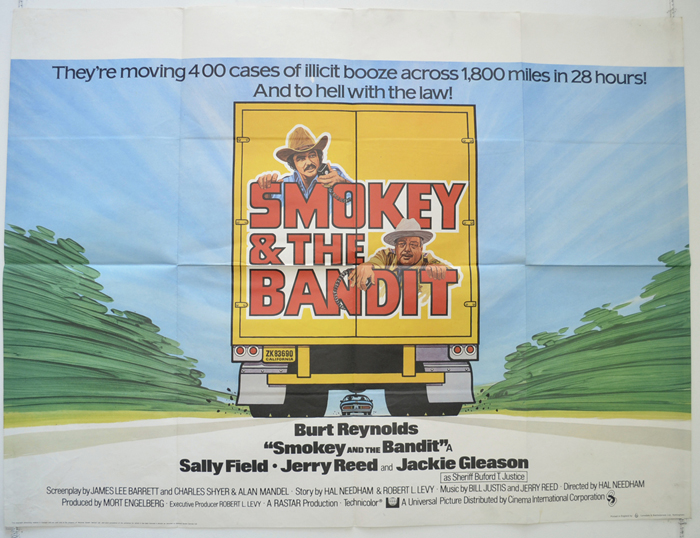 Smokey And The Bandit - Original Cinema Movie Poster From ...