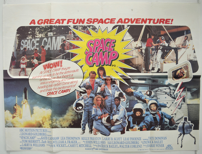 Spacecamp Movie poster 24inx36in Poster