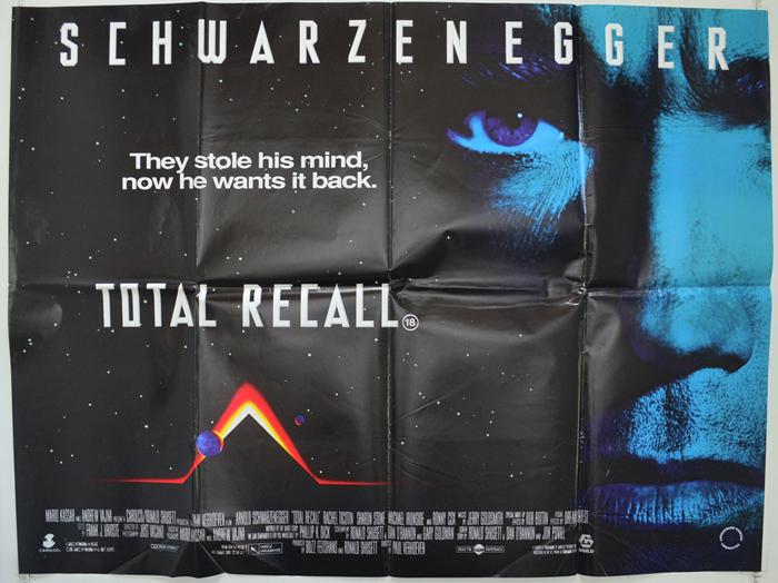 Total Recall - Original Cinema Movie Poster From pastposters.com ...