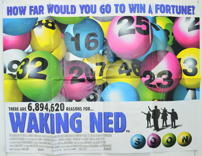 Waking Ned - Original Cinema Movie Poster From pastposters.com ...