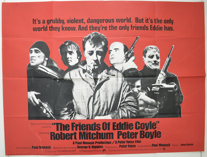 Friends Of Eddie Coyle (The) - Original Cinema Movie Poster From ...