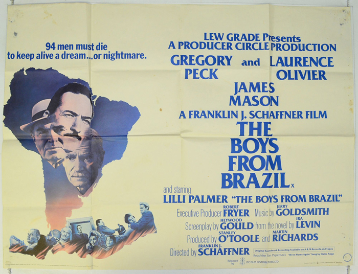 Boys From Brazil (The) - Original Cinema Movie Poster From ...