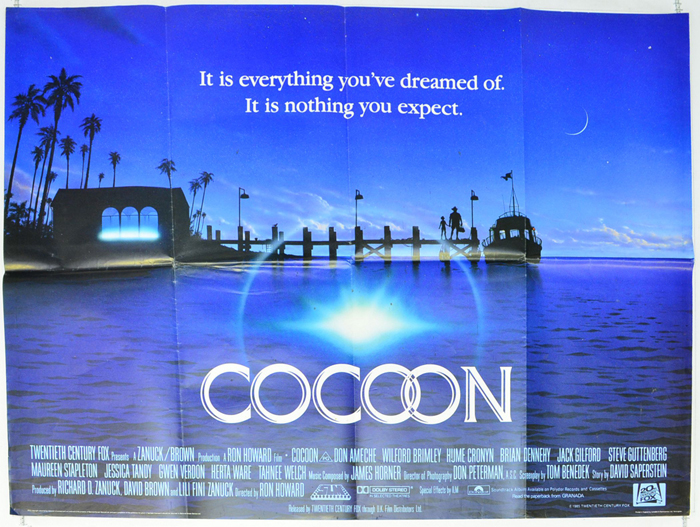 Cocoon - Original Cinema Movie Poster From pastposters.com British ...