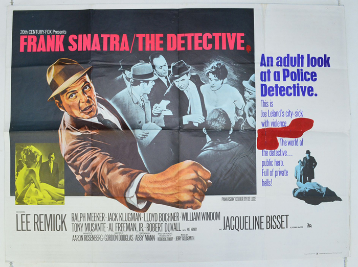 Detective (The) - Original Cinema Movie Poster From pastposters.com British  Quad Posters and US 1-Sheet Posters