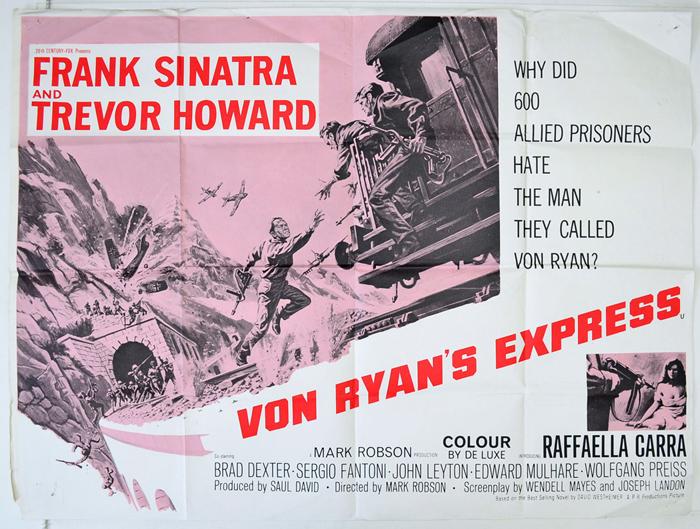 Von Ryan's Express - Original Cinema Movie Poster From pastposters ...