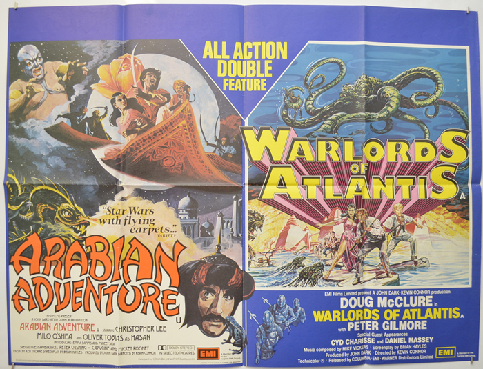 Arabian Adventure / Warlords Of Atlantis <p><i> (Double Bill) </i></p>