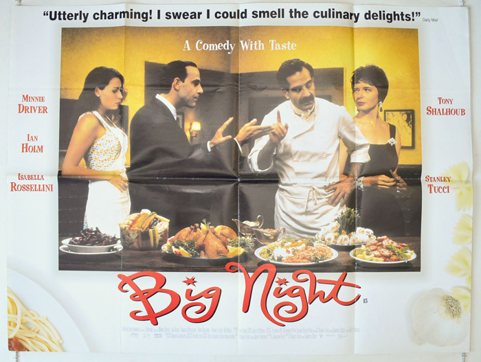 Big Night - Original Cinema Movie Poster From pastposters.com ...