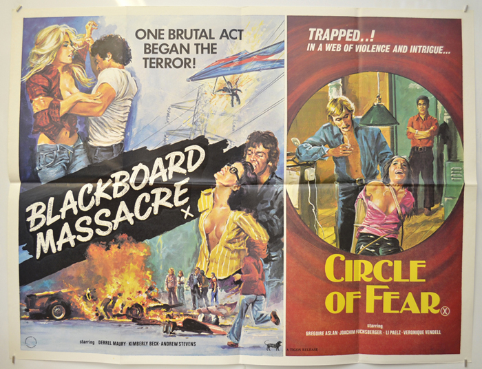 Blackboard Massacre / Circle Of Fear <p><i> (Double Bill) </i></p>