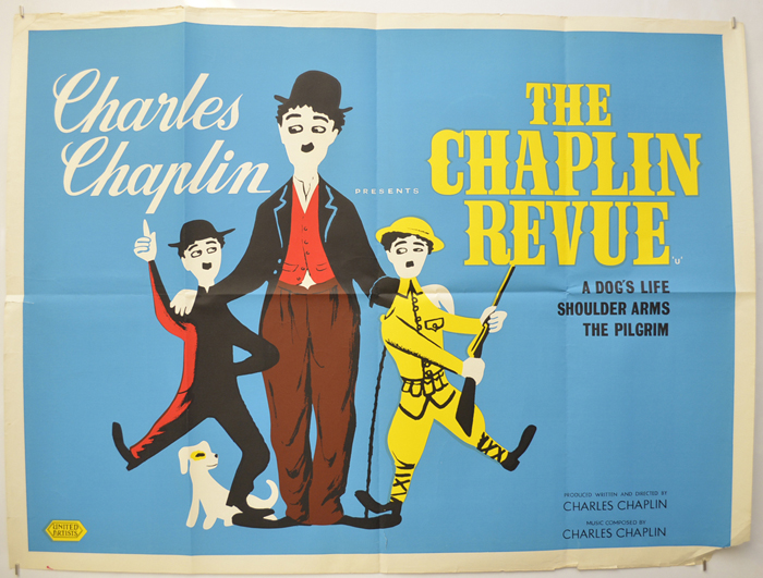 Chaplin Revue (The) <p><i> (1959 re-release poster) </i></p>