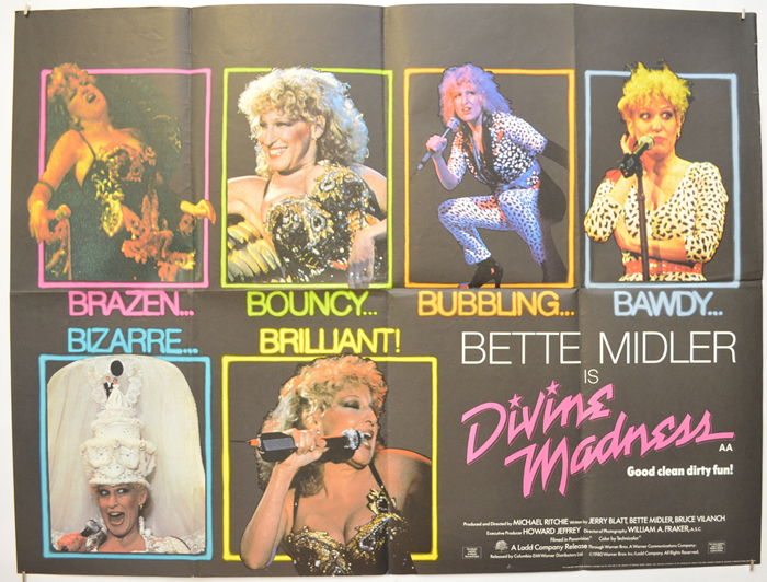 Divine Madness (Bette Midler Is)