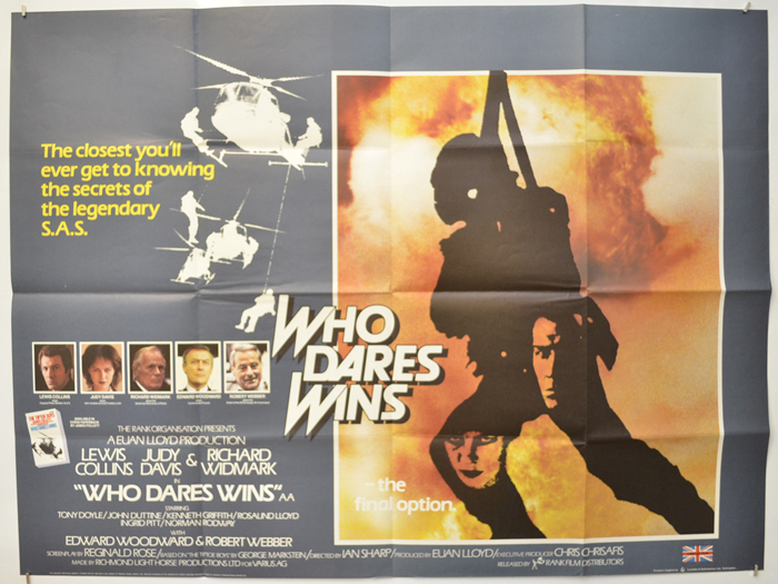 Who Dares Wins - Original Cinema Movie Poster From pastposters.com British  Quad Posters and US 1-Sheet Posters