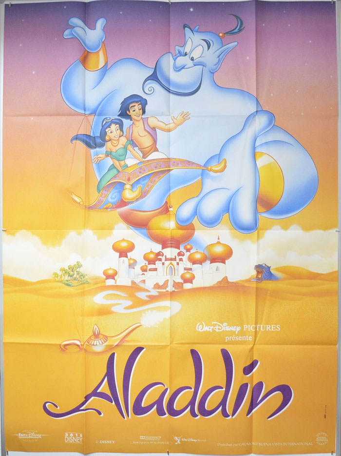Aladdin <p><i> Original French Grande Poster </i></p>