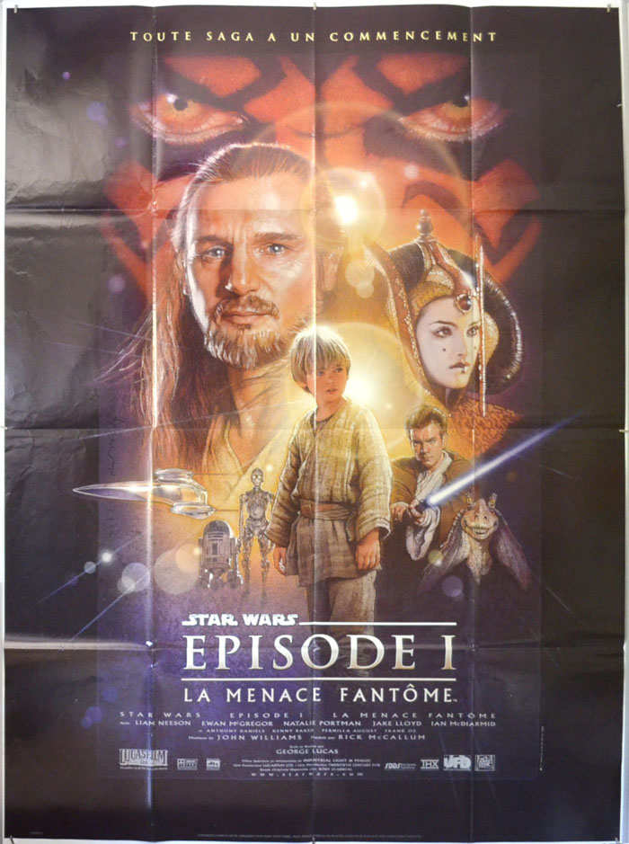 Star Wars Episode I : The Phantom Menace <p><i> Original French Grande Poster </i></p>