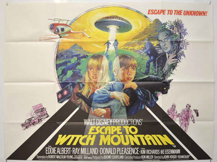 Escape To Witch Mountain - Original Cinema Movie Poster From ...