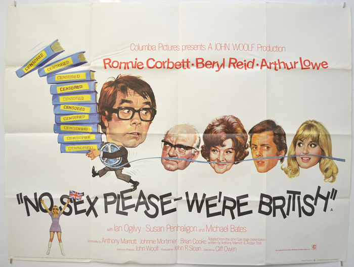No Sex Please We're British - Original Cinema Movie Poster From ...