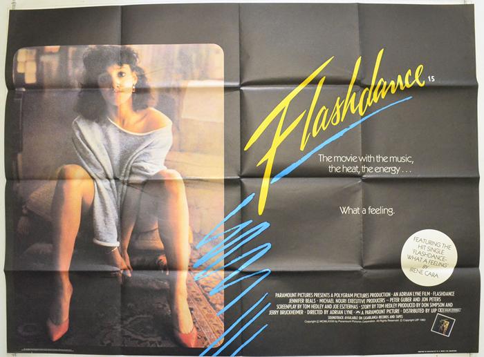 Flashdance - Original Cinema Movie Poster From pastposters.com ...