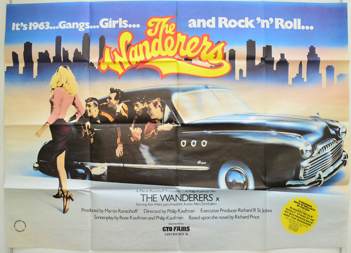 Wanderers (The) - Original Cinema Movie Poster From pastposters ...