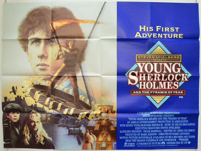 Young Sherlock Holmes - Original Cinema Movie Poster From ...