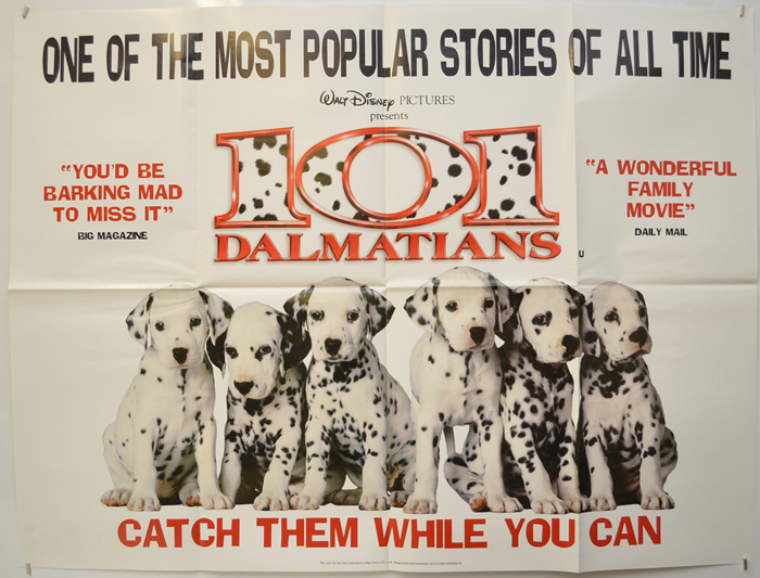 101 Dalmatians (Live Action) <p><i> (Teaser / Advance Version) </i></p>