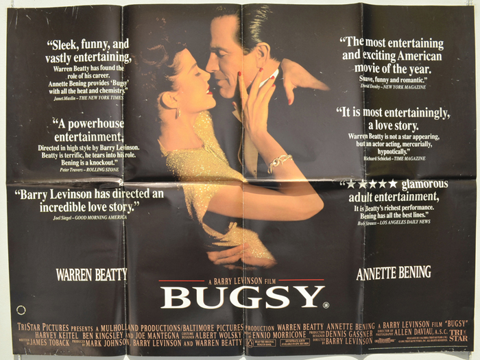 Bugsy - Original Cinema Movie Poster From pastposters.com British ...