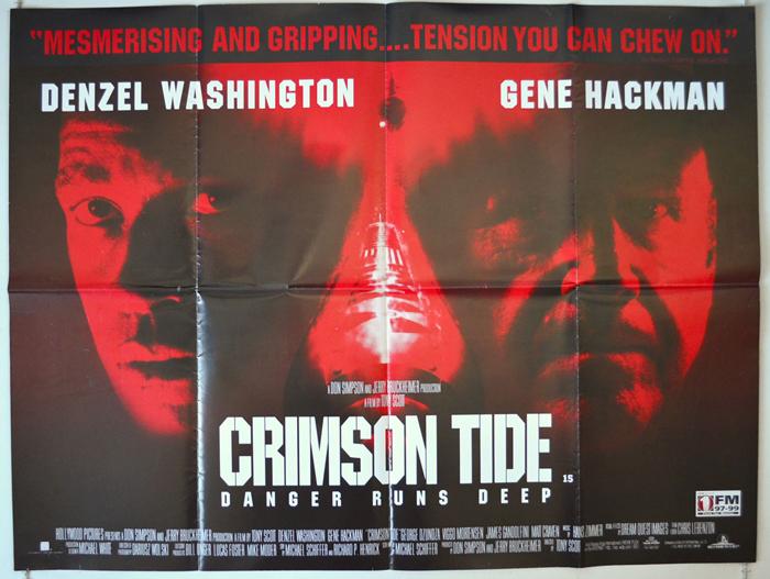 Crimson Tide - Original Cinema Movie Poster From pastposters.com ...