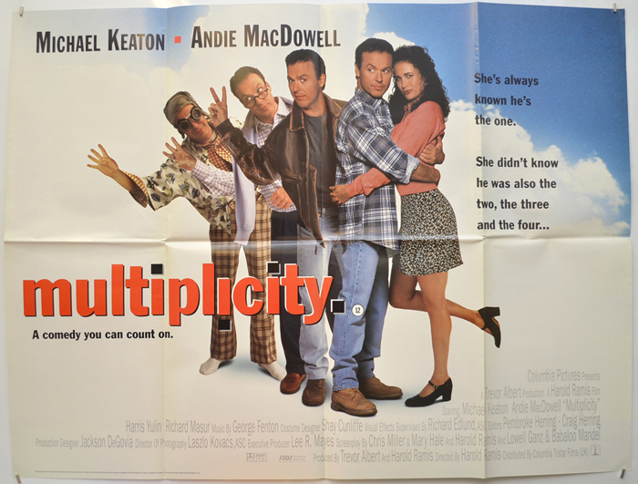 Multiplicity - Original Cinema Movie Poster From pastposters.com ...