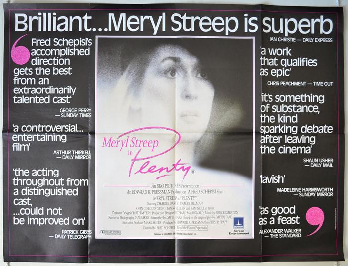 Plenty <p><i> (Quotes Version) </i></p> - Original Cinema Movie ...